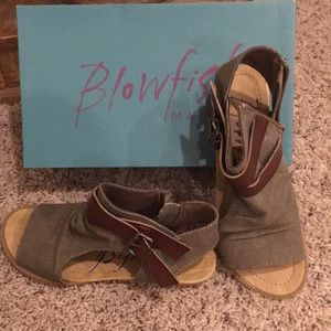 Brand New Blow fish sandals  size 7